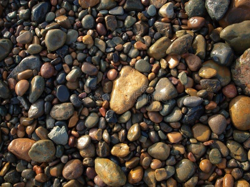 Βράχοι στις παραλίες Tijuana στοκ εικόνα