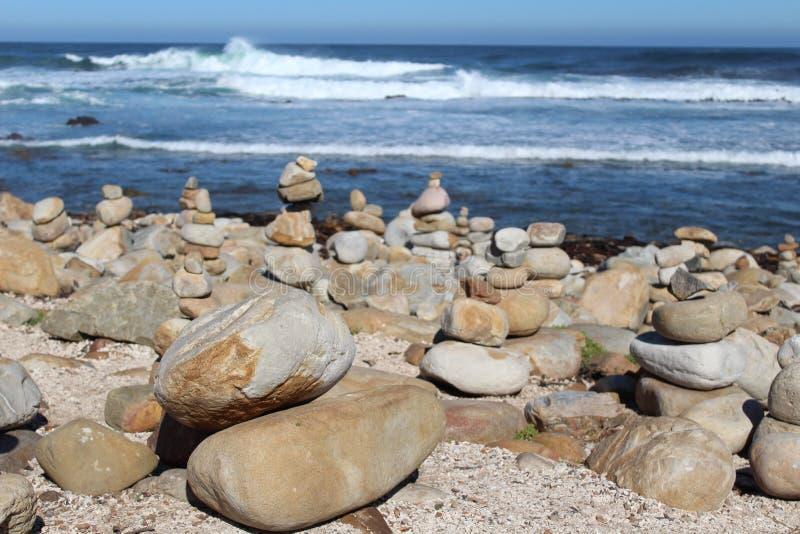 Βράχοι στο ακρωτήριο της καλής ελπίδας στοκ φωτογραφίες