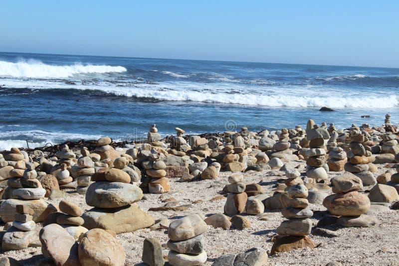 Βράχοι στο ακρωτήριο της καλής ελπίδας στοκ εικόνα με δικαίωμα ελεύθερης χρήσης