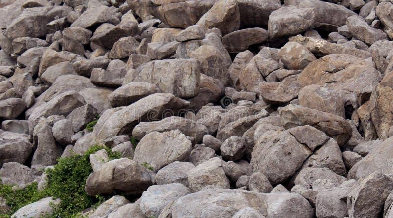 Βράχοι στο Hill στοκ εικόνες με δικαίωμα ελεύθερης χρήσης