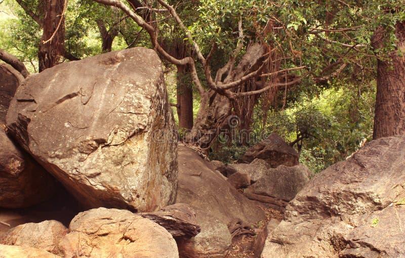 βράχοι λόφων στοκ εικόνα