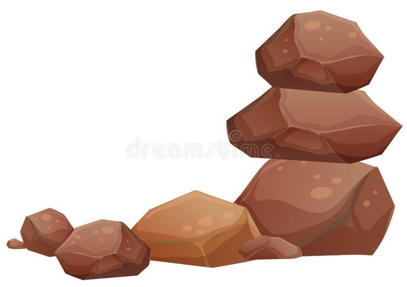 Βράχοι απεικόνιση αποθεμάτων