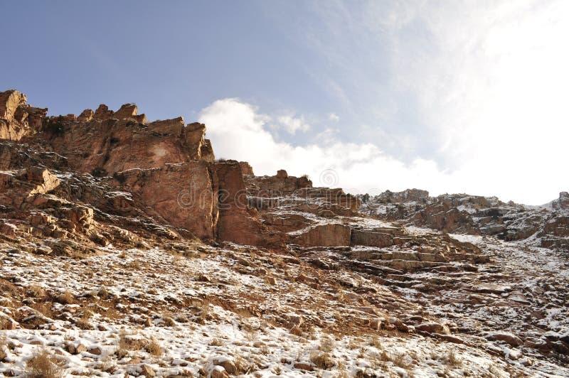 Βράχοι, CHIMGAN, ΟΥΖΜΠΕΚΙΣΤΆΝ στοκ φωτογραφία με δικαίωμα ελεύθερης χρήσης