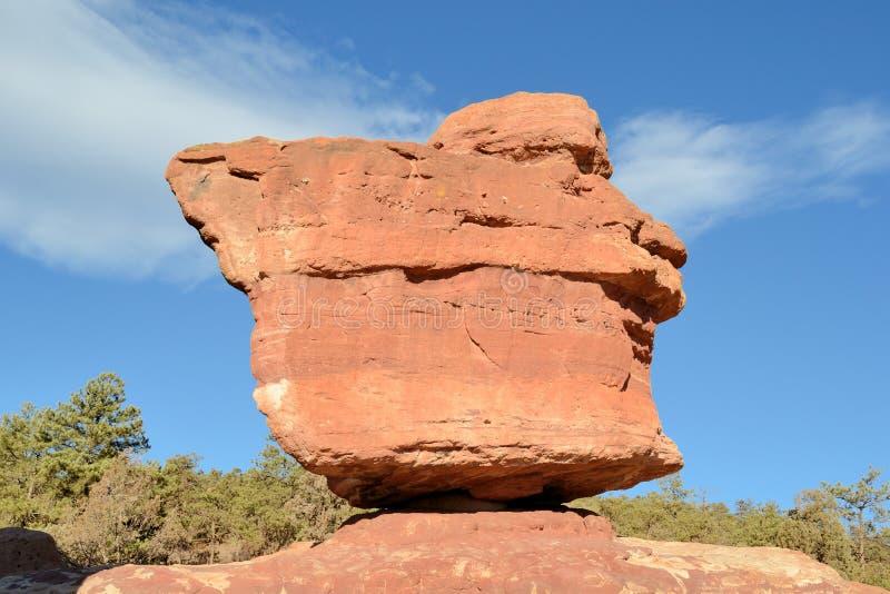 βράχος Θεών κήπων ισορροπί&al στοκ φωτογραφίες
