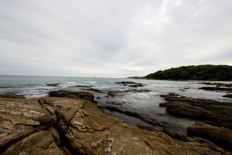 Βράχος και θάλασσα στοκ φωτογραφία