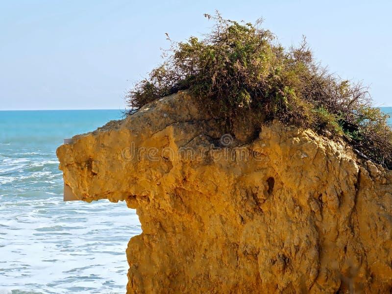 Βράχος με μορφή του διάσημου αριθμού Alf στοκ εικόνες