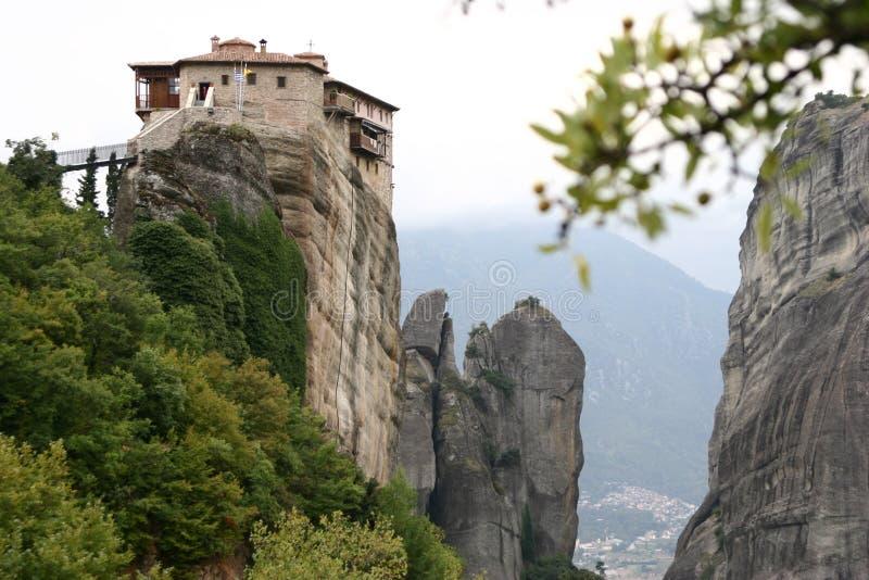 βράχος μοναστηριών στοκ εικόνες με δικαίωμα ελεύθερης χρήσης