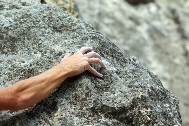 βράχος ορειβατών στοκ φωτογραφίες