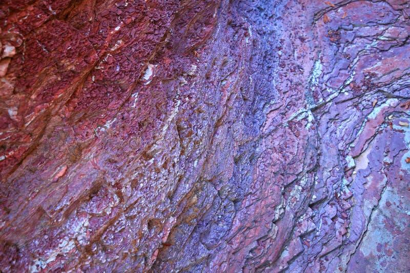 βράχος ουράνιων τόξων στοκ φωτογραφίες με δικαίωμα ελεύθερης χρήσης