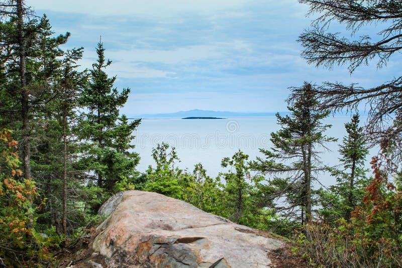 Βράχος πάνω από το βουνό στοκ φωτογραφία
