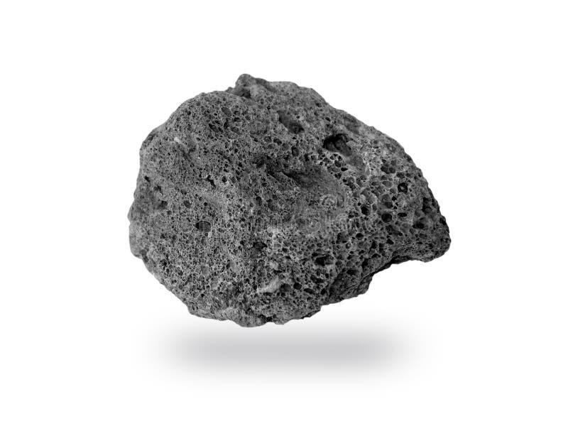 Βράχος που απομονώνεται ηφαιστειακός στοκ φωτογραφία