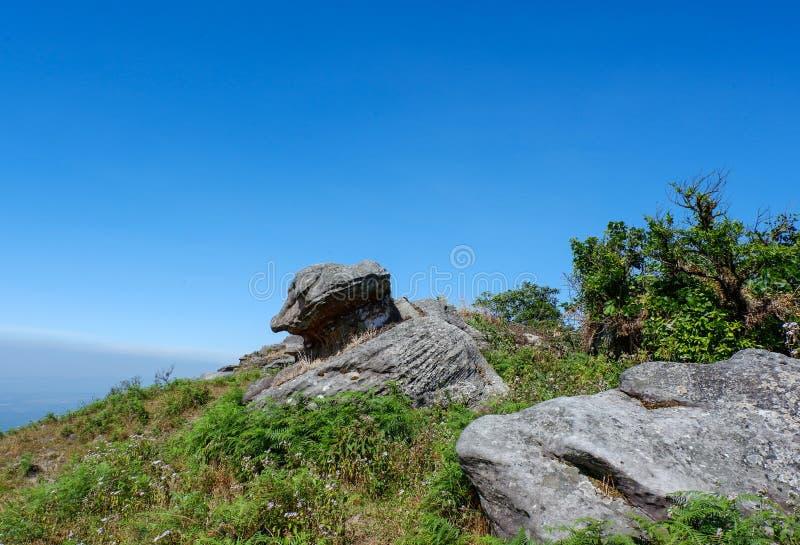 Βράχος στο βουνό στοκ εικόνα με δικαίωμα ελεύθερης χρήσης