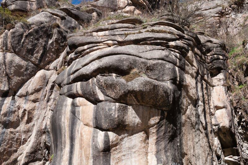 Βράχος στο φαράγγι Grigorevsky στοκ εικόνες με δικαίωμα ελεύθερης χρήσης