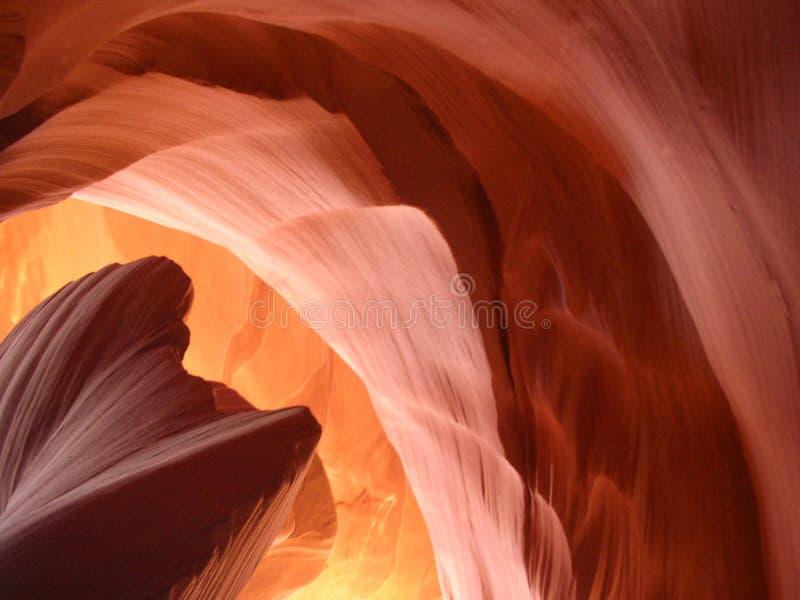 βράχος σχηματισμών φαραγγιών αντιλοπών στοκ εικόνες