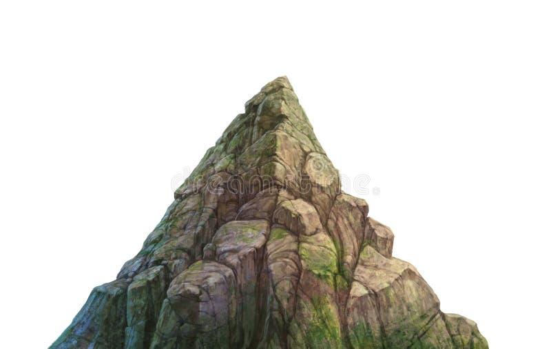 βράχος του βουνού ελεύθερη απεικόνιση δικαιώματος