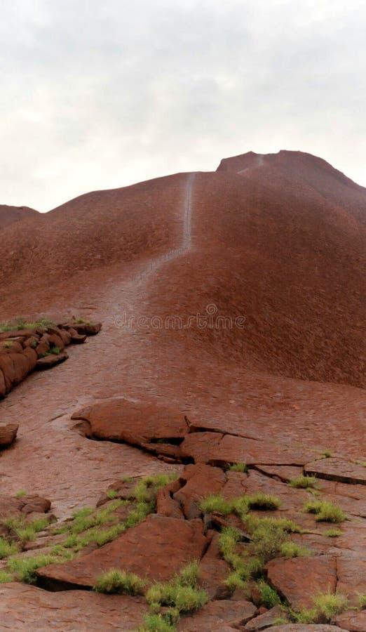 Download βράχος του Ayres εκδοτική φωτογραφία. εικόνα από walkway - 124442
