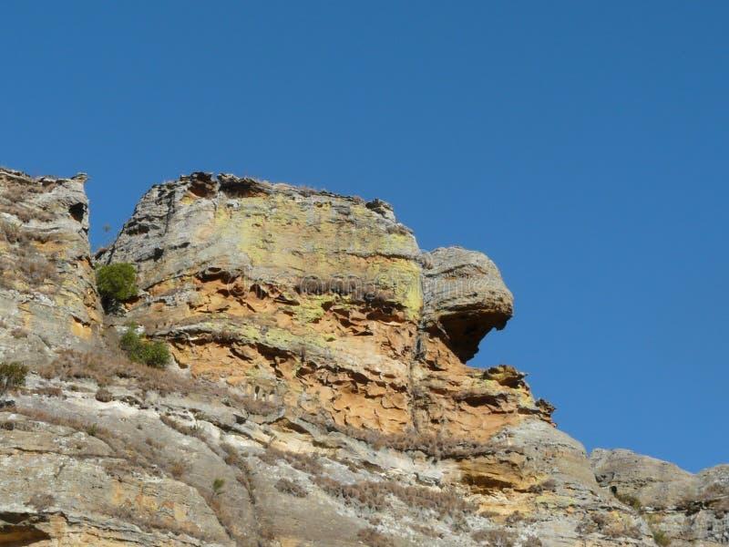 Βράχος χελωνών στη Μαδαγασκάρη στοκ εικόνα με δικαίωμα ελεύθερης χρήσης