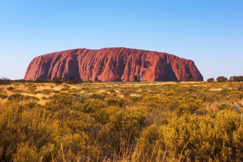 Βράχος Ayers Uluru, Βόρεια Περιοχή, Αυστραλία στοκ φωτογραφία
