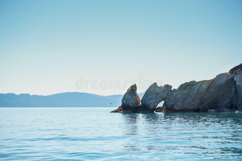 Βράχος Lalaria στοκ εικόνα με δικαίωμα ελεύθερης χρήσης
