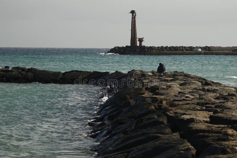 Βράχος Lanzarote στοκ εικόνες με δικαίωμα ελεύθερης χρήσης