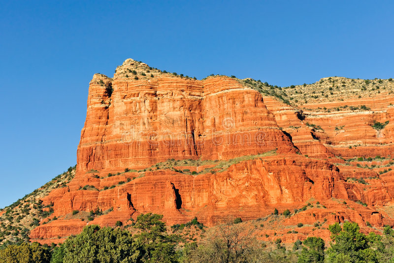 βράχος mesa σχηματισμού της Α&rh στοκ φωτογραφία με δικαίωμα ελεύθερης χρήσης
