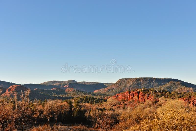 βράχος mesa σχηματισμών της Αριζόνα στοκ φωτογραφία με δικαίωμα ελεύθερης χρήσης