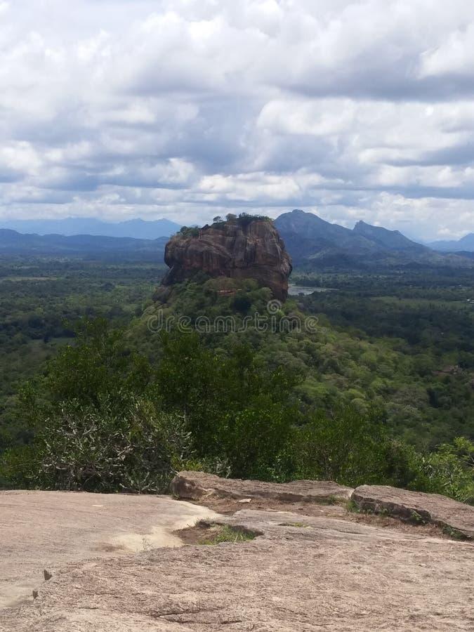 Βράχος Sigiriya στοκ φωτογραφίες με δικαίωμα ελεύθερης χρήσης