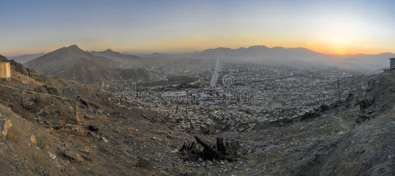 Βράδυ Καμπούλ στοκ εικόνα με δικαίωμα ελεύθερης χρήσης