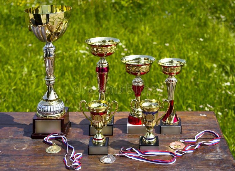 βραβεία αθλητικά στοκ φωτογραφία με δικαίωμα ελεύθερης χρήσης