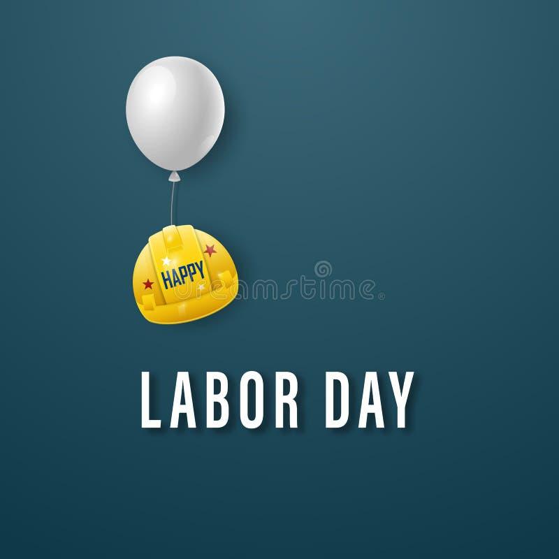 Βραβείο Happy Labour day Πρότυπο για τη σχεδίαση απεικόνιση αποθεμάτων