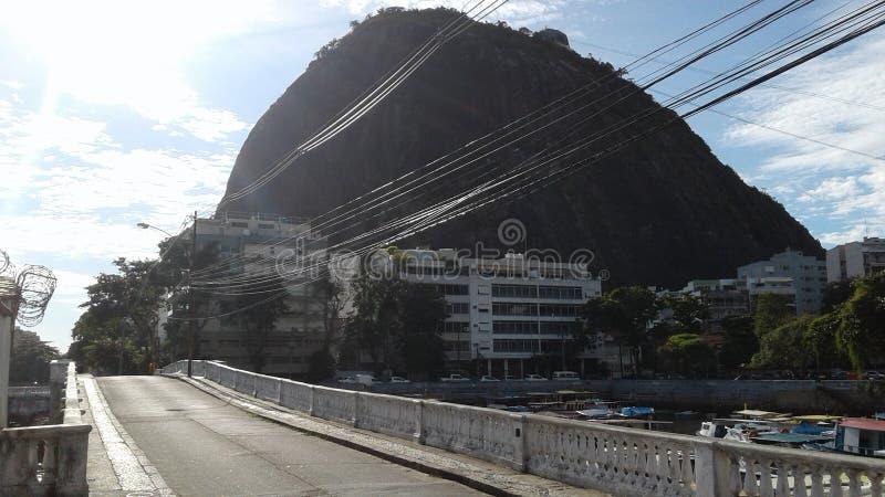 Βραζιλία - Ρίο ντε Τζανέιρο - Urca στοκ φωτογραφία με δικαίωμα ελεύθερης χρήσης