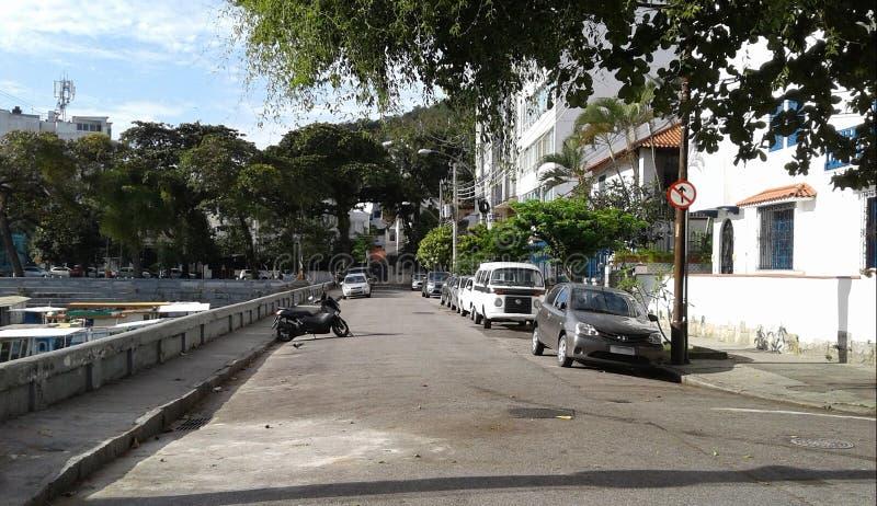 Βραζιλία - Ρίο ντε Τζανέιρο - Urca στοκ εικόνα