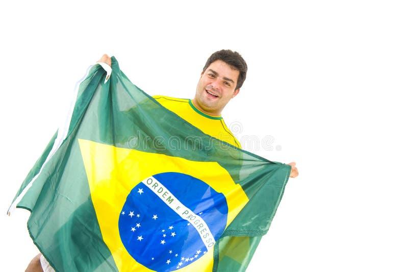 βραζιλιάνα υποστήριξη στοκ φωτογραφίες