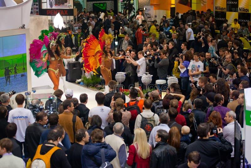βραζιλιάνοι χορευτές photoshow στοκ φωτογραφία