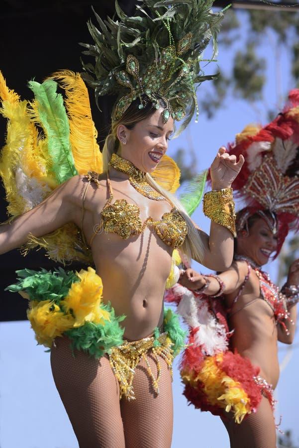 Βραζιλιάνοι χορευτές στοκ φωτογραφίες με δικαίωμα ελεύθερης χρήσης