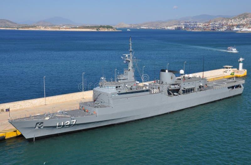 Βραζιλιάνο πολεμικό πλοίο U27 στοκ εικόνα