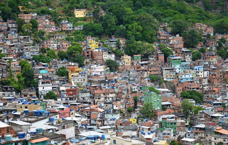 βραζιλιάνο favela στοκ φωτογραφίες με δικαίωμα ελεύθερης χρήσης