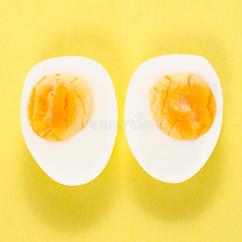 Βρασμένη απομόνωση αυγών στοκ φωτογραφία με δικαίωμα ελεύθερης χρήσης