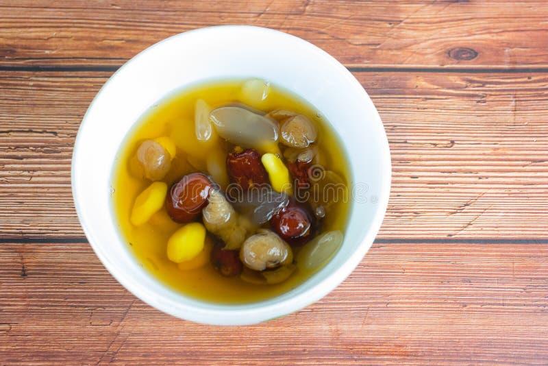 Βρασμένος longan χυμός ginkgo στοκ φωτογραφίες με δικαίωμα ελεύθερης χρήσης
