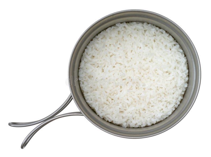 Βρασμένο στον ατμό ρύζι στοκ εικόνα με δικαίωμα ελεύθερης χρήσης
