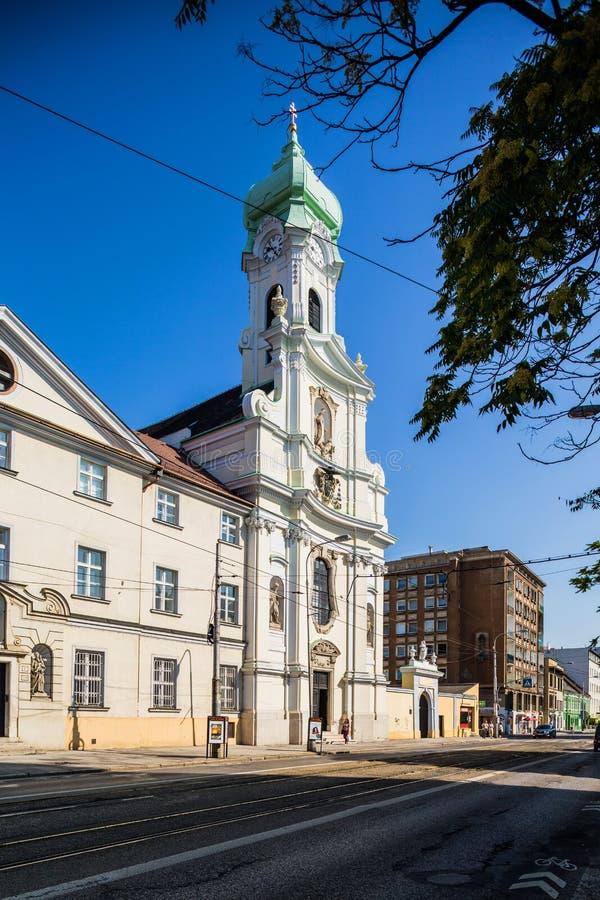 Βρατισλάβα Σλοβακία Εκκλησία του ST Elisabeth στοκ εικόνα με δικαίωμα ελεύθερης χρήσης
