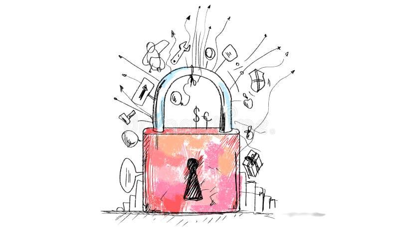 Βρείτε το κλειδί στην επιτυχία σας! ελεύθερη απεικόνιση δικαιώματος