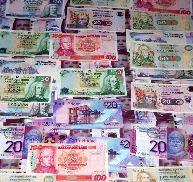 βρετανικά χρήματα στοκ εικόνα