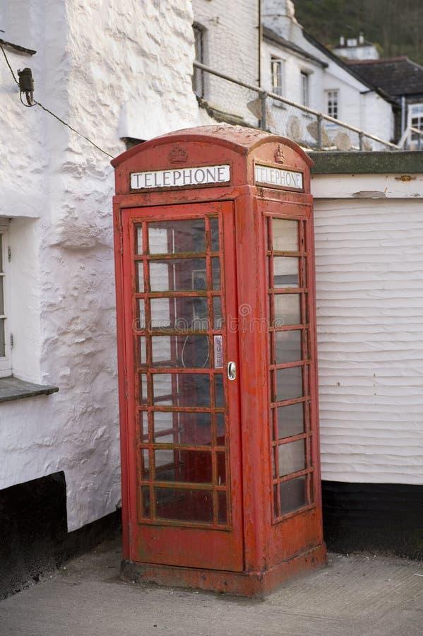 βρετανικός τηλεφωνικός κόκκινος παραδοσιακός κιβωτίων στοκ εικόνες