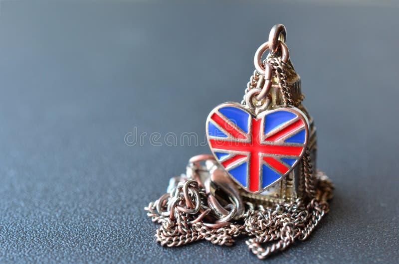 Βρετανικό αναμνηστικό στοκ εικόνα