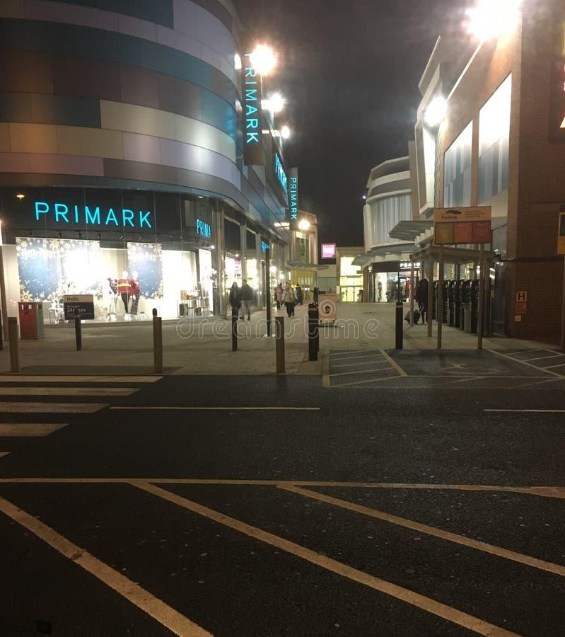 Βρετανικό εμπορικό κέντρο στοκ εικόνες