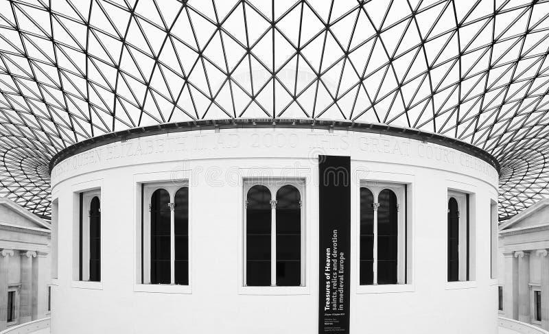 βρετανικό μουσείο του μεγάλου Λονδίνου δικαστηρίων στοκ φωτογραφίες με δικαίωμα ελεύθερης χρήσης