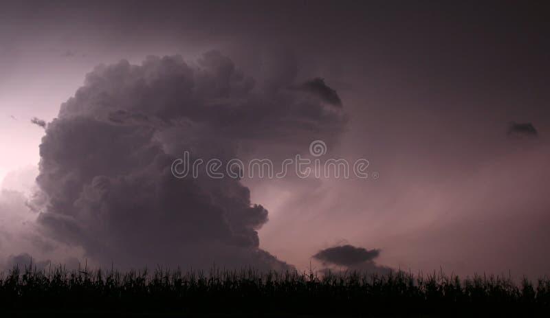 βροντή μεσάνυχτων στοκ φωτογραφία με δικαίωμα ελεύθερης χρήσης