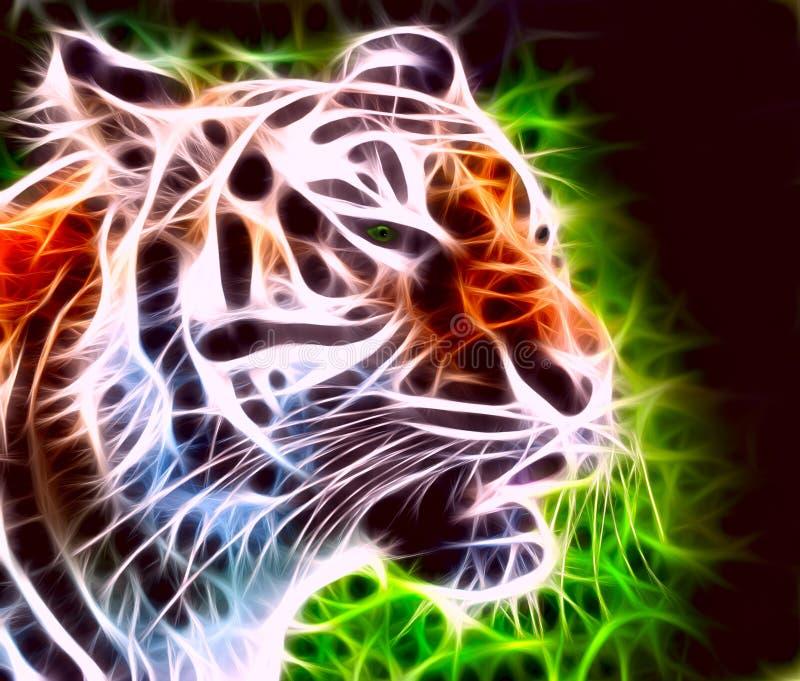 βροντώντας τίγρη απεικόνιση αποθεμάτων