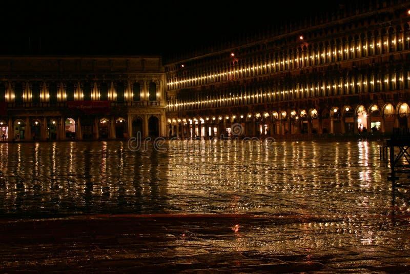 Βροχή βραδιού στη Βενετία στοκ εικόνες με δικαίωμα ελεύθερης χρήσης